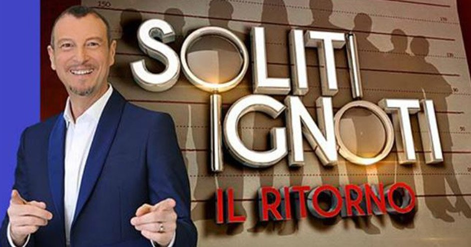 """Billy Bolla a """"I Soliti Ignoti"""" con Amadeus su Rai 1"""