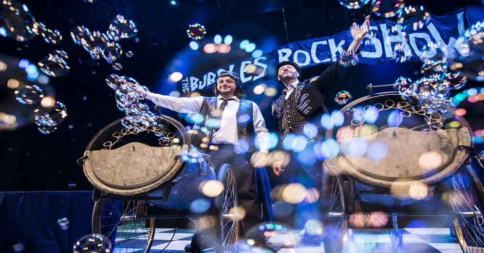 The Bubbles Rock Show! Spettacolo al teatro Oltheater di Peschiera Borromeo (MI)