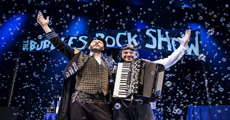 The Bubbles Rock Show per il Natale Fiat al Oval Lingotto (TO)