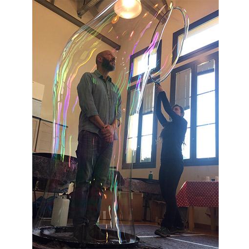 Realizzare tunnel con le bolle